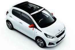 Peugeot 108 Open Top